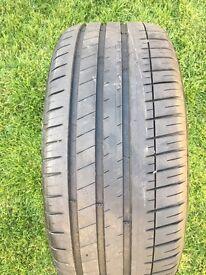 Michelin Pilot Sport 3 Tyre. *VGC* 6mm tread. 235/40 ZR18 95W XL * No Repairs*