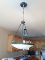 LIGHT FIXTURE in EXCELLENT Condition