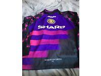 Rare vintage manchester united kit goalkeeper size boys XL