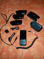 Blackberry Torch 9800 UNLOCKED $50  + all accessories