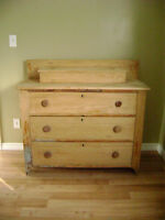 Antique Dresser & Trunk
