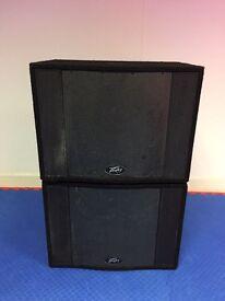 Peavey PA Speakers Pro-Sub Bass Bin Pair