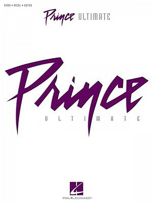 Prince Ultimate Sheet Music Piano Vocal Guitar SongBook NEW 000307192