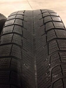 4 Michelin x-ice winter tires R17  West Island Greater Montréal image 5