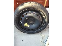 Brand new space saver tyre