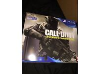 Ps4 brand new with Infinite warfare and black ops 3