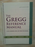~The Gregg Reference Manual