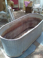 Looking for old galvanized water trough - OK if it leaks...