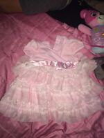 Pink dress 3-6m