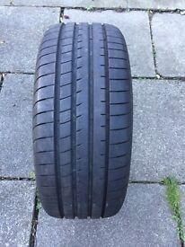 Goodyear 18inch run flat tyre 8mm