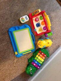 Bundle of activity toys