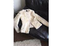 NEW fur coat size 8