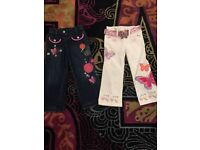 Beautiful Butterfly girl Matthew Williamson jeans age 3 New