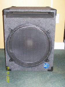 2 caisse woofer 15P Eminence 200w 400w max