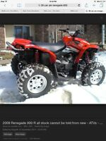 Can-Am renegade 500 cc wanted
