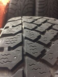 Winter tires  and steel rims 195 65 15