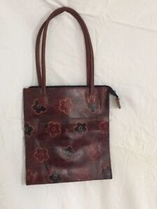 Genuine Raw Leather Tote