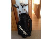 Cleveland golf bag and clubs