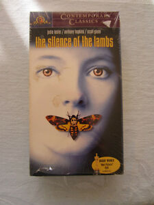 SILENCE OF THE LAMBS & MANHUNTER VHS