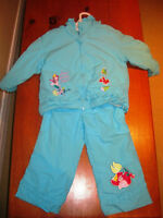 Little Mermaid Girls Fall/Spring Jacket and Pants