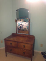 Vintage Depression Era Vanity with original mirror!!