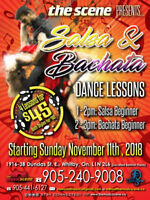 Salsa & Bachata Lessons in Whitby