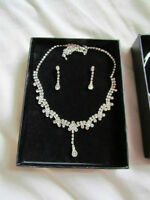 Earring and Necklace set. Never worn