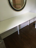 IKEA Long White Table