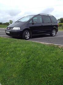2005 VW sharan SE-1.9tdi *long mot &taxed*new clutch kit fitted*alhambra/galaxy/zafira/7 seater