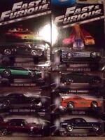 HOT WHEELS FAST & FURIOUS COMPLETE SET OF 8