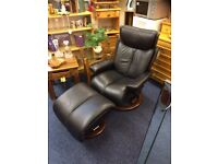 "Stressless ""MAGIC"" recliner with footstool"