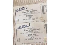 2 x standing tickets for Ben Harper - Wednesday 26 October