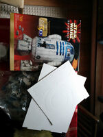 star wars and star strek models and 3d puzzles others
