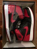 Air Jordan 1 bred retro high OG size 10,5-13 NEW IN THE BOX !