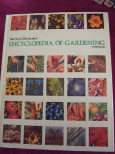 NEW ILLUSTRATED ENCYCLOPEDIA OF GARDENING, UNABRIDGED, 26 VOL.