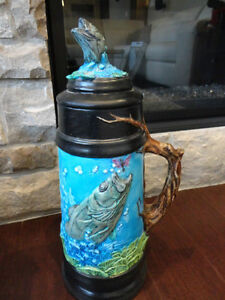 Selling Two Large Beer Steins Hand Painted Ceramic - $25 each Kitchener / Waterloo Kitchener Area image 6