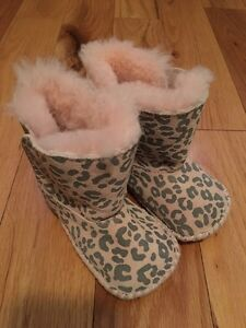 Baby Ugg boots. Worn once. Perfect condition