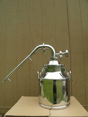 """5 Gallon Moonshine Still with 2"""" Stainless Whiskey Column"""