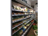 Dairy chiller multi deck fridge 4m