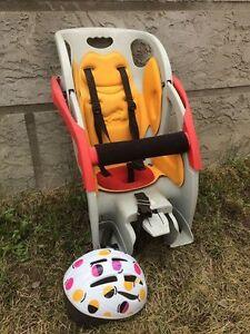Beto Deluxe Child bike seat & helmet