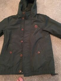 Fred perry jacket , large boys worn once £20