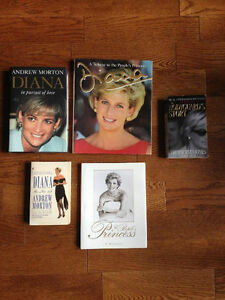 Lot of Princess Diana Books