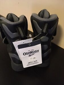 Brand new with tags - Osh Kosh winter boots toddler size 5 London Ontario image 2