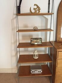 "IKEA Designer Curved 5-shelf bookcase, Shelves 6'6""x2'6"""