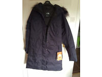 Brand New North face women arctic parka Navy Blue SMALL with Tags