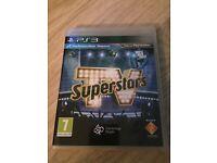 TV superstars PS 3 game