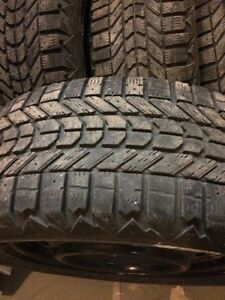 Winter tires on rims Cornwall Ontario image 1