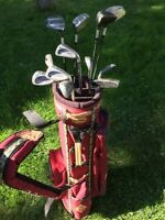 Nice set of Wison Golf clubs with King Cobra drivers.