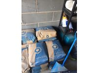 20 bags of blue circle cement
