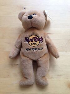 Hard Rock Cafe New York City Collectible Bears